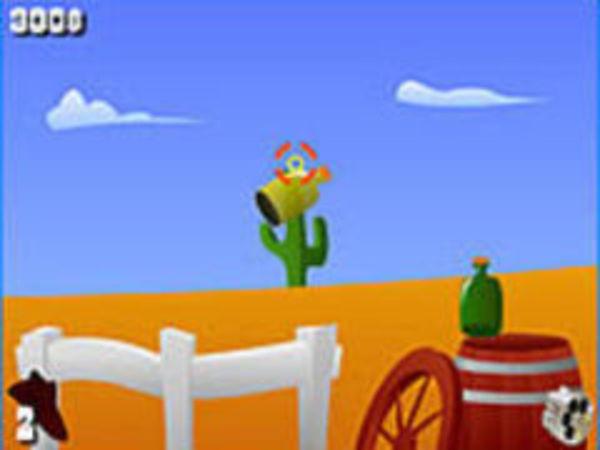 Bild zu Action-Spiel Gunslinger Challenge