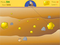 Goldminer 1 spielen
