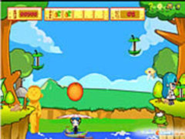 Bild zu Geschick-Spiel Fruity Jumps