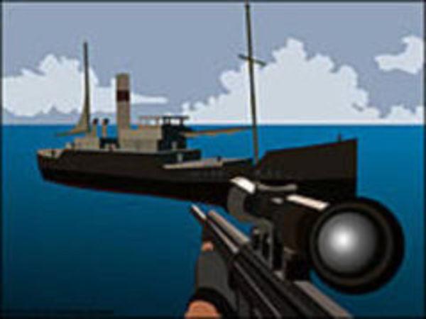 Bild zu Action-Spiel Foxy Sniper Pirate Shootout