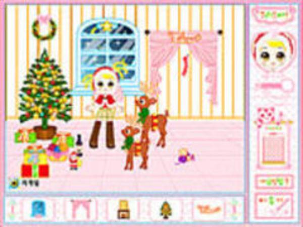 Bild zu Mädchen-Spiel Christmas Party Decoration