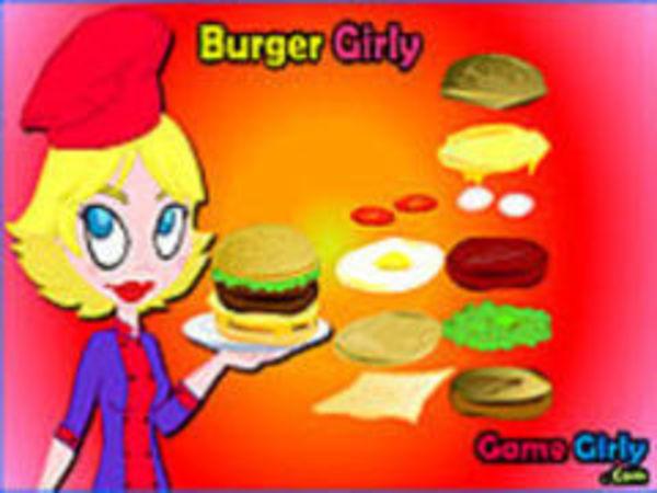 Bild zu Geschick-Spiel Burgergirly