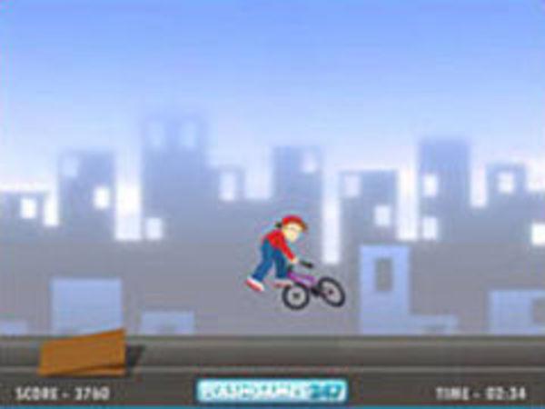 Bild zu Geschick-Spiel Bmx Rider