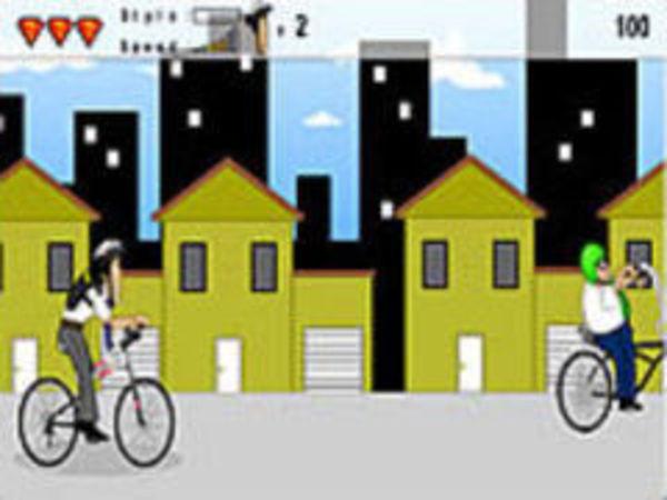 Bild zu Geschick-Spiel Bmx Race