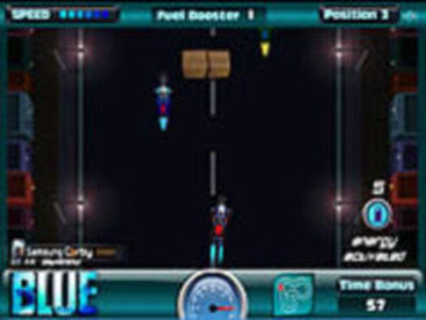 Bild zu Rennen-Spiel Blue Adreno