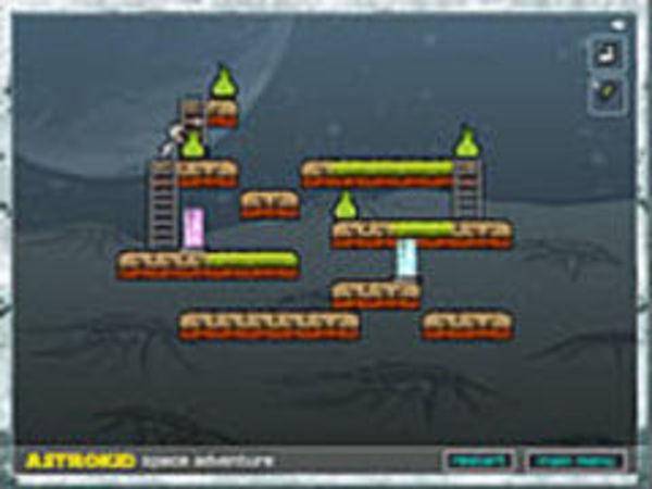 Bild zu Abenteuer-Spiel Astrokid Space Adventure