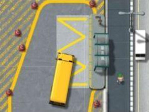 Bild zu Geschick-Spiel School Bus License
