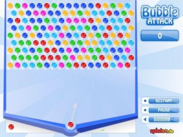 Bild zu Denken-Spiel Bubble Attack