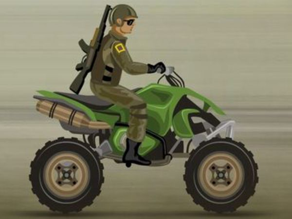 Bild zu Geschick-Spiel Army Rider
