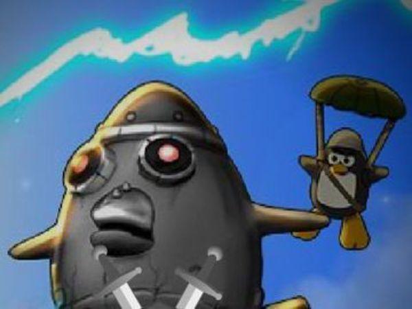 Bild zu Action-Spiel Penguins Attack 3