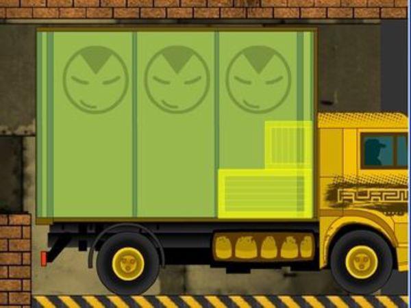 Bild zu Geschick-Spiel Truck Loader