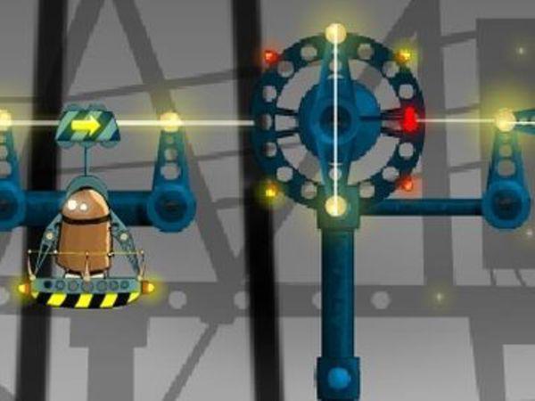 Bild zu Denken-Spiel Railway Robots Road Trip