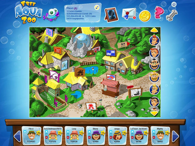Free Aqua Zoo Screenshot 1