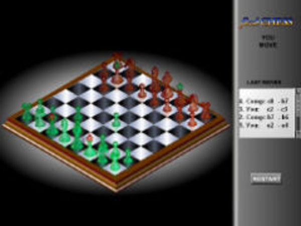 Bild zu Denken-Spiel Schach 3D
