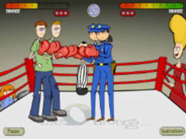 Bild zu Action-Spiel Boxing 2 on 2