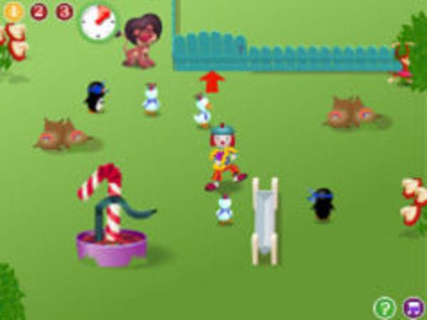 Bild zu Mädchen-Spiel Funny Farm