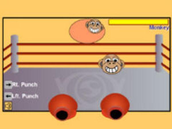 Bild zu Action-Spiel Monkey Boxing