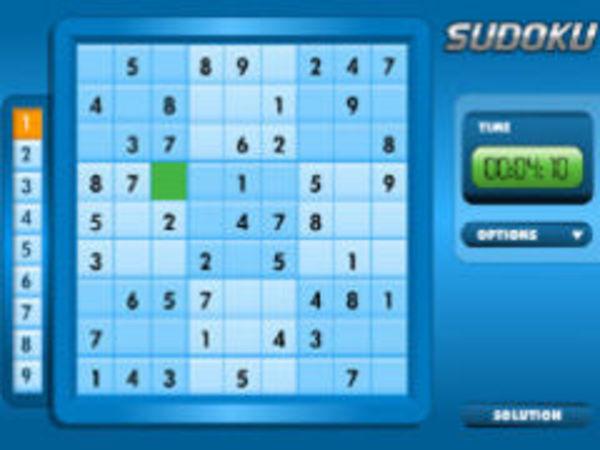 Bild zu Denken-Spiel Sudoku