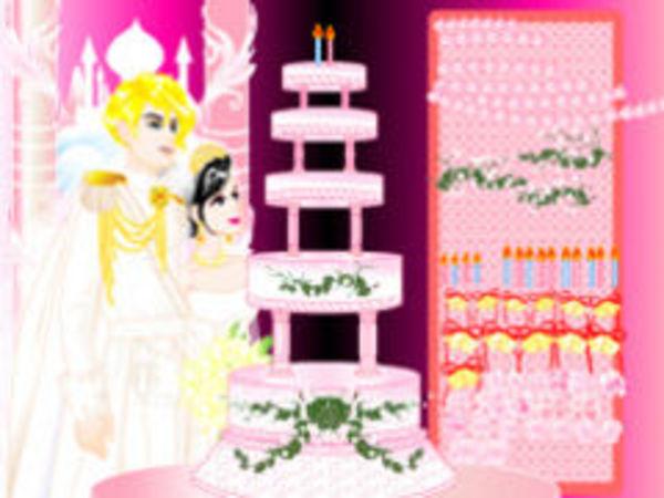 Bild zu Geschick-Spiel Hochzeitstorte