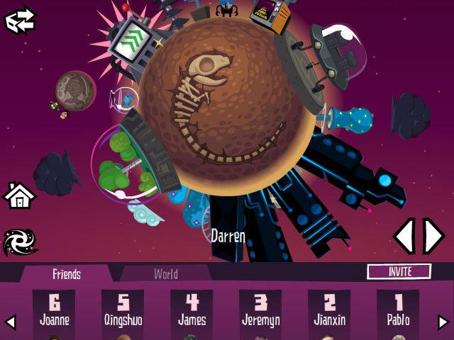 Crazy Planets Screenshot 1
