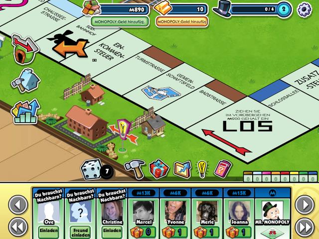 Monopoly Millionaires Screenshot 1