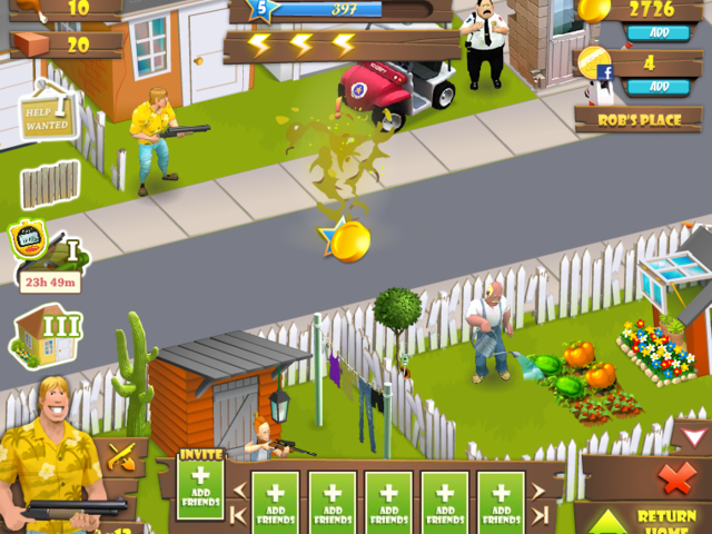 Zombie Lane Screenshot 1