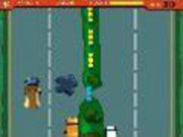 Bild zu Rennen-Spiel Dog Police
