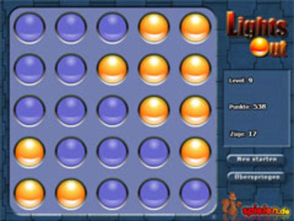 Bild zu Highscore-Spiel Light Out