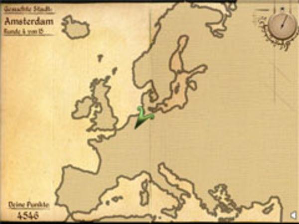 Bild zu Highscore-Spiel Geo-Quiz Europa