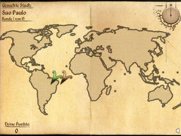 Bild zu Highscore-Spiel Geo-Quiz Welt