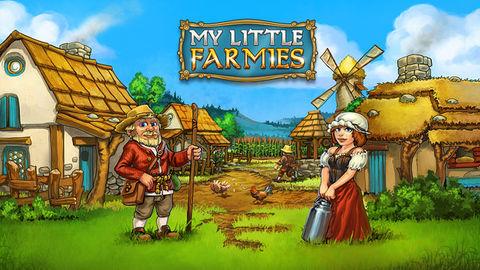 Spiele jetzt kostenlos das Simulation-Spiel My Little Farmies