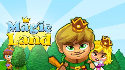 Spiele jetzt kostenlos das Strategie-Spiel Magic Land