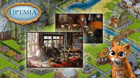Spiele jetzt kostenlos das Simulation-Spiel Uptasia