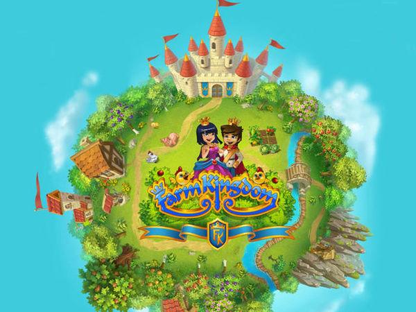 Bild zu Simulation-Spiel Farm Kingdom