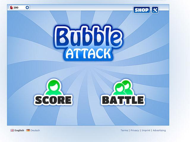Bubble Attack Screenshot 1