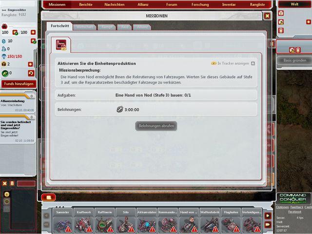 Tiberium Alliances Screenshot 1