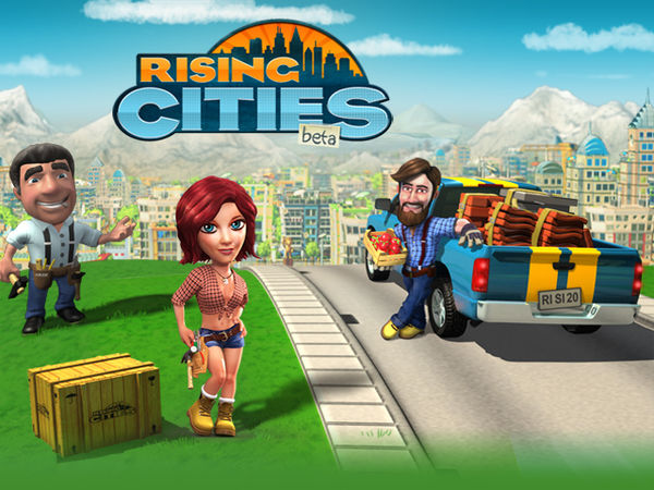 Bild zu Simulation-Spiel Rising Cities