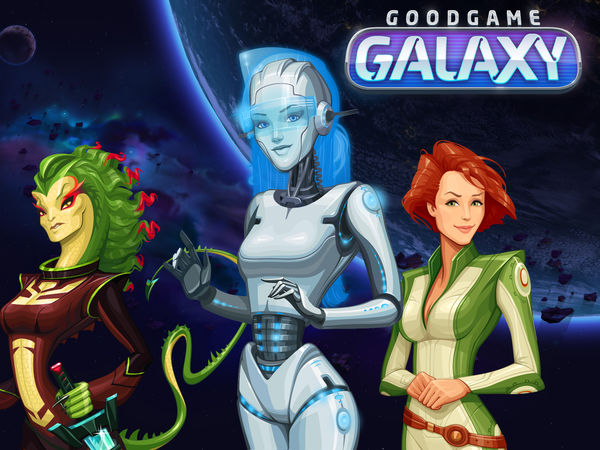 Bild zu Strategie-Spiel Goodgame Galaxy