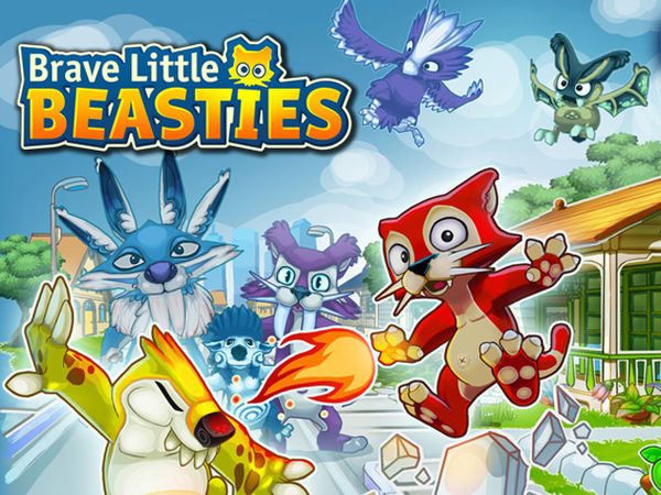 Bild zu Strategie-Spiel Brave little Beasties