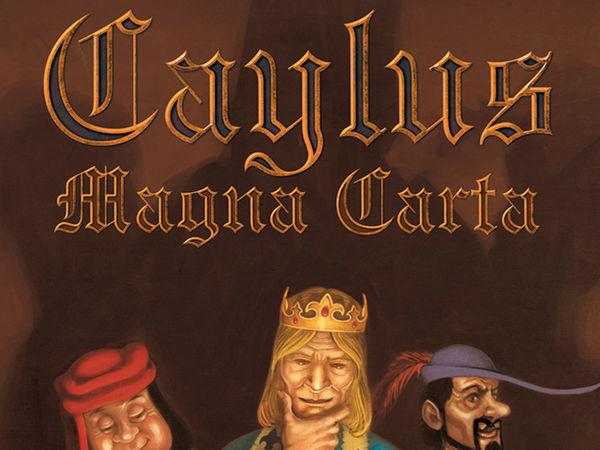 Bild zu Frühjahrs-Neuheiten-Spiel Caylus: Magna Carta
