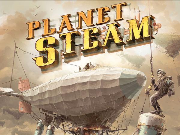 Bild zu Frühjahrs-Neuheiten-Spiel Planet Steam