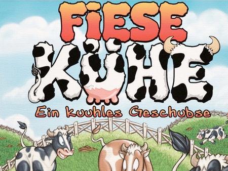 Fiese Kühe