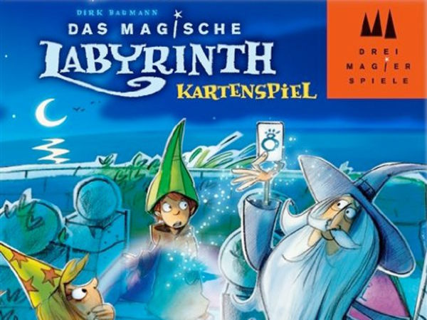 Bild zu Frühjahrs-Neuheiten-Spiel Das magische Labyrinth: Kartenspiel
