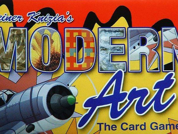 Bild zu Frühjahrs-Neuheiten-Spiel Modern Art: The Card Game