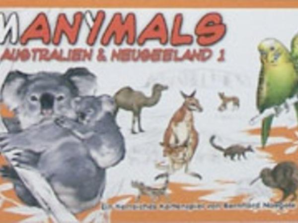 Bild zu Frühjahrs-Neuheiten-Spiel Manimals: Australien