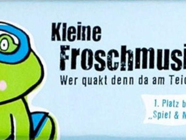 Bild zu Frühjahrs-Neuheiten-Spiel Kleine Froschmusik
