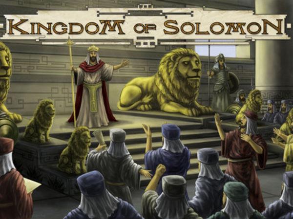 Bild zu Frühjahrs-Neuheiten-Spiel Kingdom of Solomon