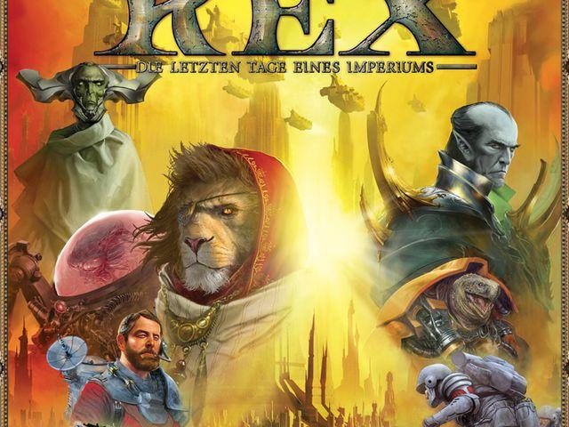 Twilight Imperium Rex - Die letzten Tage eines Imperiums Bild 1