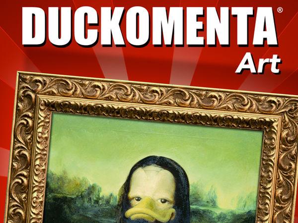 Bild zu Frühjahrs-Neuheiten-Spiel Duckomenta Art