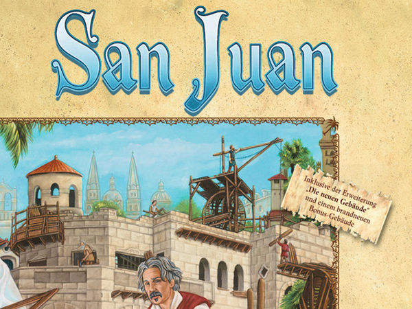 Bild zu Frühjahrs-Neuheiten-Spiel San Juan